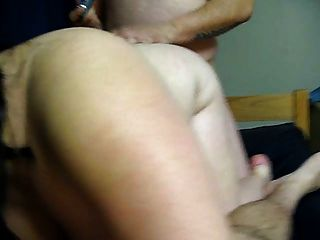 Homemade Threesome With Chubby Wife And A Friend
