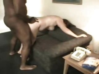 Chubby Wife Thanking A Black Guy For Fucking Her