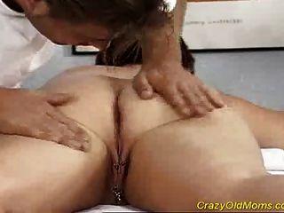 Mom Crazy sex old fucked hard