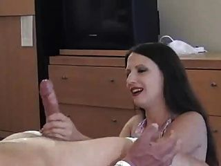 post orgasm handjob