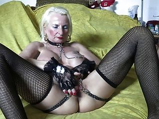 Allysin chains fucked on bail of hay - 3 part 6
