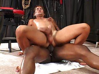 Hot Black Dude Fucks White Tight Ass