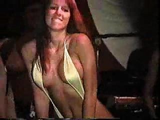 Bikini Contest - Girl Shows Her Nipples - Oops
