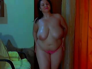 Busty Bbw Webcam Dance