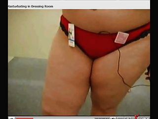 Bbw Public Masturbation In Dressingroom