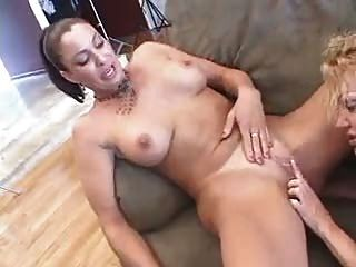 3 horny cougars pounce on a lucky guy - 2 part 6