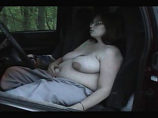 Smoking Fetish - Chubby Pregnant Smoking