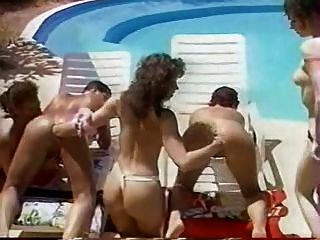 Fisting Orgy By The Pool