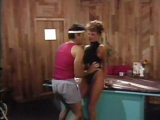 Erica Boyer & John Leslie In Pumping Flesh