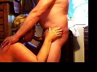 Wife Giving Blow Job To Husband