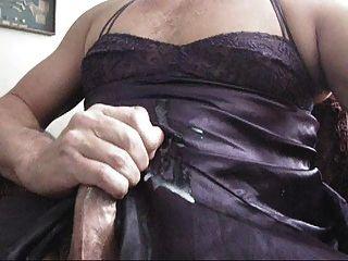 Jackin Off In Neighbor Lingerie - Huge Cum Shot