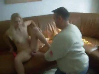 Skinny German Swinger Having Fun