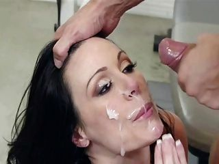 Facial then stick your cock back in 8