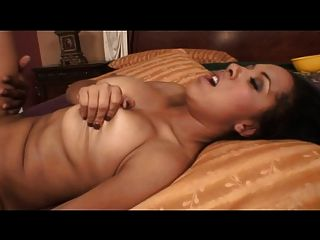 Hot Black Chick With Big Tits Fucks