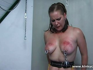 Puffy nipples tortured