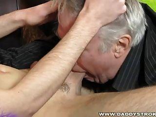 Sucking Daddy Off