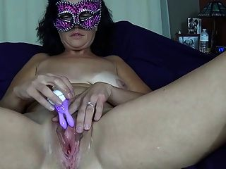 Amateur Wife Masturbates To Orgasm