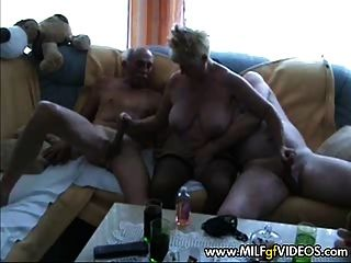 Ass blonde busty plump