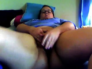 Hairy Bbw Masterbating On Cam