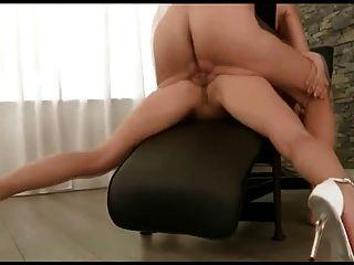 Very Deep Ass Fucking With Leggy Babe