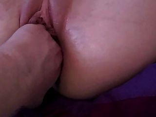 Double Fist And Cock Fuck