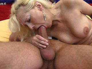 image German 38yr old milf get fucked by two 18yr old boys