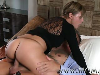 Necessary try mature moms riding big cocks