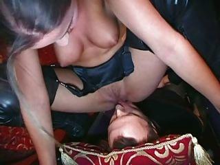 British Slut Poppy Morgan In A Kinky Ffm Scene
