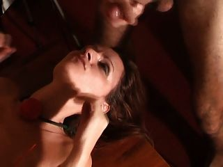 Submissive Cum In Eyes