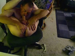 Self Suck Then, I Was So Horny I Used My Toy To Fuck My Ass, Ohh Boy