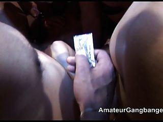 Filthy British Sluts Gang Banged