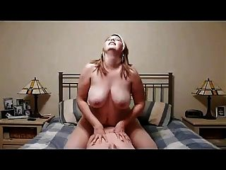 Amateur Busty Chubby Riding Cock