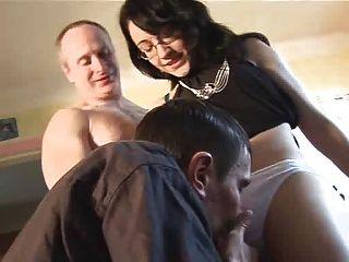 Nice girl masturbates