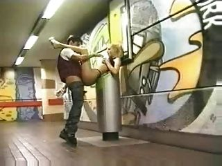 Swedish Public Analsex In The Metro Station