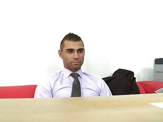 Job Interview (straight Fucked And Cum Face)