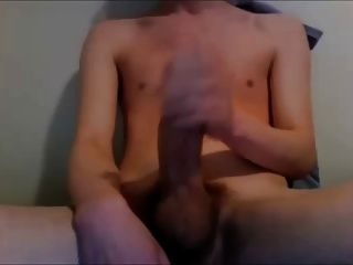 Twink Cums Hard And Moan