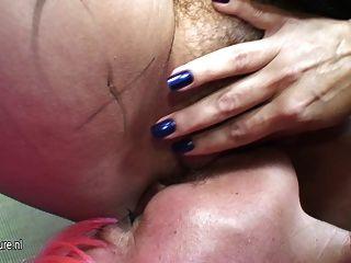 Big Mature Lesbian Getting Wet With Her Mature Girlfriend