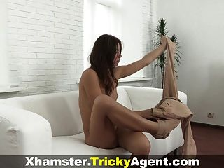 Tricky Agent - Seducing A Shy First-timer