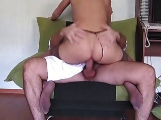 Stocking Woman Fucked Hard By His Boss.. Anal Crampie!