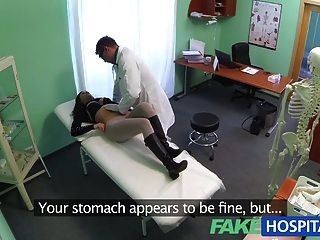 Fake Hospital Sexual Treatment Turns Gorgeous Busty Patient