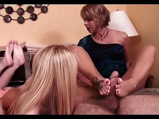 Threesome foot job, free sex scandal gp videos