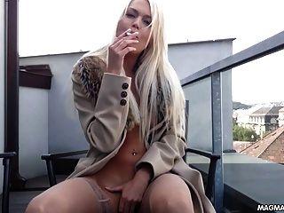 german blonde sperm whore