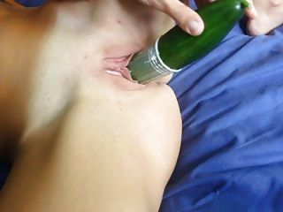Me Playing With Two Big Cucumbers-anal&dp- Amateur By Ciprea