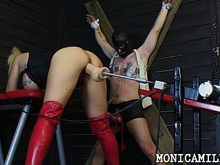 Whipped And Pegged By Monicamilf From Norway