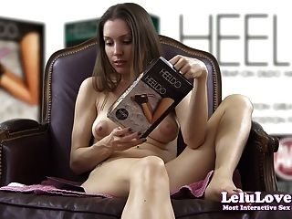 Lelu Love-testing Heeldo Foot Dildo