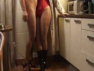 Pantyhose Handjobs Weekend With My Gf