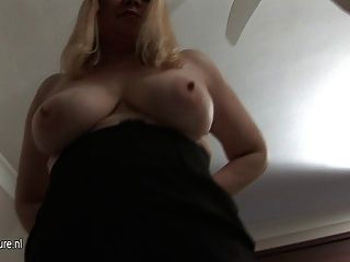 Dirty Granny Playing With Herself