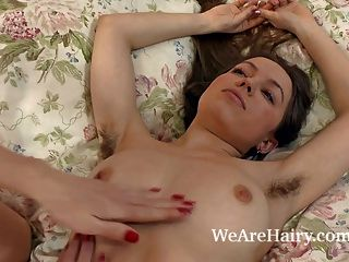 Hairy Beauty Gretta Enjoys A Kinky Massage Today