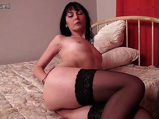 Horny amateur housewife
