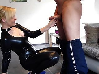 latex catsuit tease sex pormo